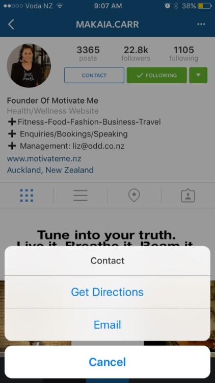 Profilo business Instagram 02
