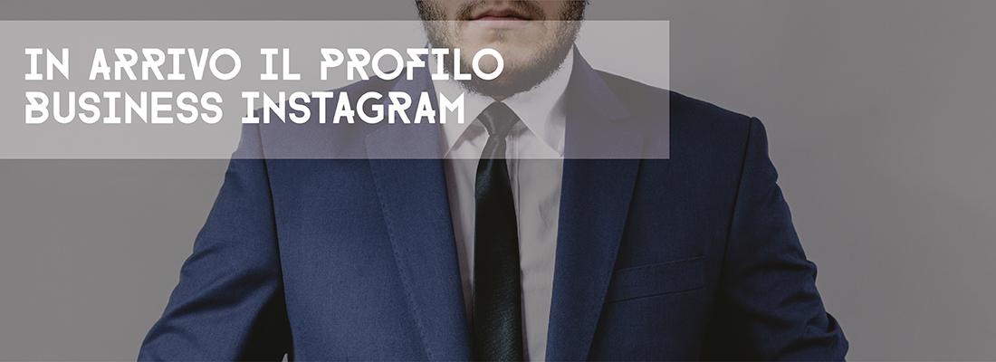 profilo business Instagram