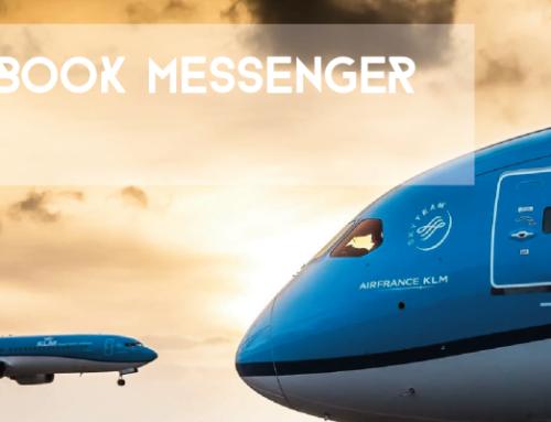KLM e Facebook Messenger: insieme in alta quota