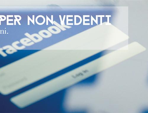 Facebook per non vedenti: dare voce alle immagini