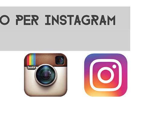 Nuovo logo per Instagram